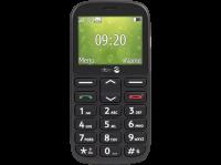 Acheter Doro 1361 - Téléphone mobile - double SIM - microSD slot - GSM - 240 x 320 pixels - TFT - RAM 8 Mo - 2 MP - noir au meilleur prix