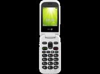Acheter Doro 2404 - Téléphone mobile - microSD slot - GSM - 320 x 240 pixels - TFT - RAM 16 Mo - 0,3 MP - rouge au meilleur prix
