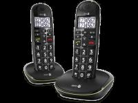 Comparateur de prix DORO PhoneEasy 110 Duo - téléphone sans fil avec ID d'appelant/appel en instance + combiné supplémentaire