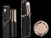 Acheter FLAWLESS - Coffret Epilateurs - Epilateurs Visage + Sourcils + Brosse de Nettoyage + Miroir Offert - USB Rechargeable  au meilleur prix
