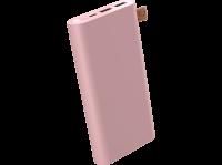 Comparateur de prix Fresh 'n Rebel Powerbank 18.000 mAh Chargeur Portable Batterie de Secours Externe - 2-Ports USB-C & USB – Dusty Pink
