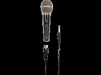 """Comparateur de prix Hama Microphone dynamique """"""""DM 60"""""""" (avec caractéristique cardioïde, boîtier en métal, longueur de câble 3m) Noir"""