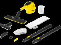 Acheter Nettoyeur vapeur balai Kärcher SC1 Easy Fix 1200 W Jaune et Noir avec kit sol au meilleur prix