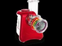 Comparateur de prix Râpe électrique Moulinex Fresh Express Max 5 en 1 DJ812510 Blanc et Rouge
