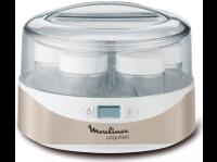 Acheter MOULINEX YG231E32 Yaourtière Yogurteo - 7 pots en verre - Argent et blanc  au meilleur prix