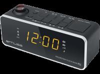 Acheter Radio Réveil PLL Muse avec projection de l'heure M-188 P au meilleur prix