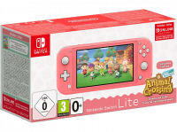 Pack Nintendo Switch Lite Corail + Animal Crossing New Horizons + 3 mois de NSO