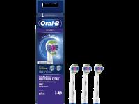 Acheter Accessoire dentaire Oral B Brossette 3D White Avec Technologie Clean Maximiser Lot de 3 Blanc au meilleur prix