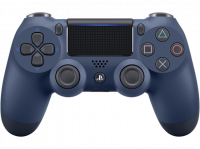 Acheter Manette PS4 DualShock 4.0 V2 Midnight Blue - PlayStation Officiel  au meilleur prix