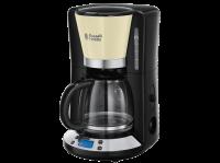 Acheter RUSSELL HOBBS 24033-56 Cafetière Filtre Programmable Colours Plus 24h, Digital, Maintien au Chaud - Crème  au meilleur prix
