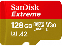 Acheter Carte Mémoire SanDisk Extreme MicroSDXC 128 Go au meilleur prix