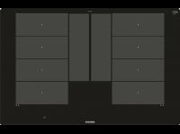 Comparateur de prix Siemens EX801LYC1E plaque Noir Intégré Plaque avec zone à induction - Plaques (Noir, Intégré, Plaque avec zone à induction, Verre-céramique, 3700 W,