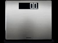 Soehnle Style Sense Safe 300, balance électronique avec large écran LCD, balance de précision supporte jusqu'à 180 kg, pèse personne métal inoxydable