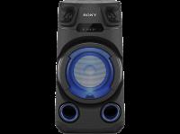 Sony MHC-V13 Système Audio Portable High Power Bluetooth, Lumières Multi-Couleurs, Jet Bass Booster, idéal pour la fête