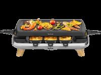Acheter Raclette 3en1 Tefal Gourmet 8 1350W Gris au meilleur prix