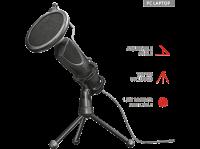 Comparateur de prix TRUST Microphone USB GXT 232 - Connexion USB numérique