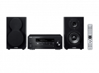 YAMAHA MCR-N470D Noir - Mini-Chaîne CD MP3 USB - Wi-Fi / Bluetooth / AirPlay / MusicCast - Tuner DAB / DAB+ - Design Haut de Gamme