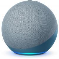Acheter Nouvel Echo (4e génération), Avec son premium, hub connecté et Alexa, Bleu-gris au meilleur prix