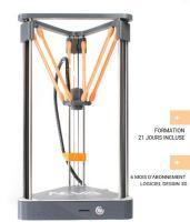 Acheter Dagoma NEVA - Imprimante 3D - FFF - taille de construction jusqu'à 180 x 180 x 200 mm - couche : 0.1 mm au meilleur prix