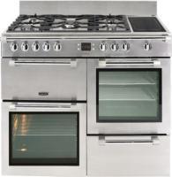 Acheter Leisure Cookmaster CK100F324X - Cuisinière (four à deux étages) - pose libre - largeur : 100 cm - profondeur : 60 cm - hauteur : 90 cm - avec système auto-nettoyant - au meilleur prix