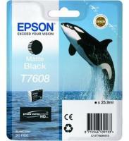 Comparateur de prix Epson Cartouche Orque T7608 Noir mat